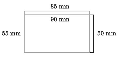 porównanie formatów wizytówek